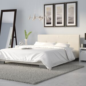 ayana upholstered platform bed - Minimalist Bed Frame