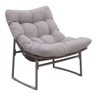 Blunt Patio Chair with Cushion