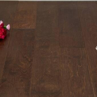 Tuscanwood The Hills Hickory 0 5 Thick X 7 5 Wide X Varying Length Engineered Wood Hardwood Flooring Wayfair