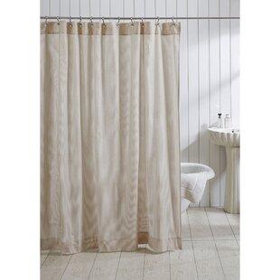Elizabeth 100% Cotton Seersucker Shower Curtain