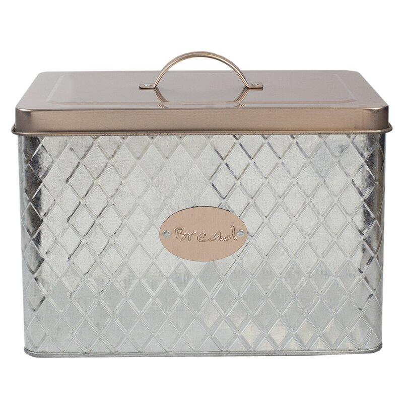 Kips Bay Tin Bread Box