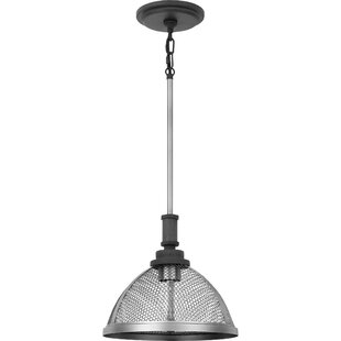 Cleghorn 1-Light Cone Pendant by Williston Forge