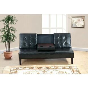 Abrams Adjustable Convertible Sofa with Center Console