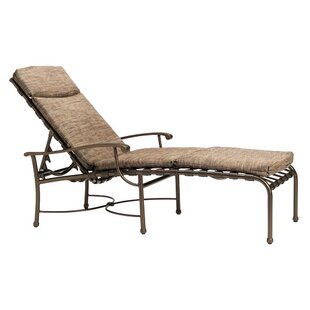 Sorrento Reclining Chaise Lounge with Cushion