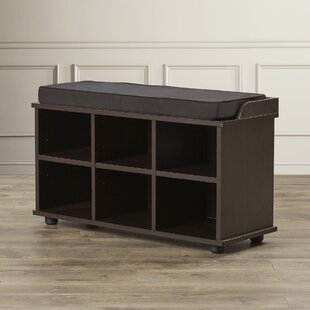 Charlton Home Arch Hill 6 Cubby Storage Bench