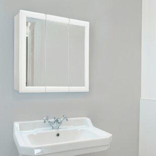 Searle Surface Mount Framed 3 Doors Medicine Cabinet with 2 Adjustable Shelves by Winston Porter