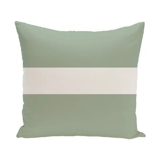 Narrow The Gap Stripe Print Throw Pillow