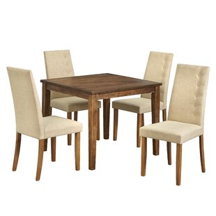 Langner 5 Piece Dining Set by Charlton Home