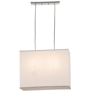 Meyda Tiffany Quadrato 2-Light Square/Rectangle Pendant