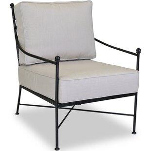 Provence Club Chair with Sunbrella Cushions