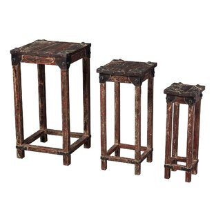 Lake City Stacking 3 Piece Table Set by Loon Peak