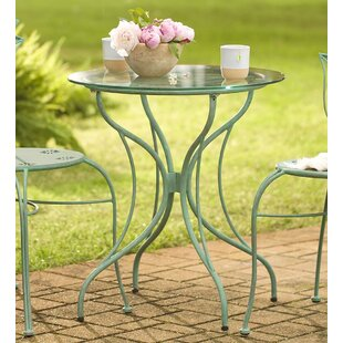 Metal Leaf Bistro Table