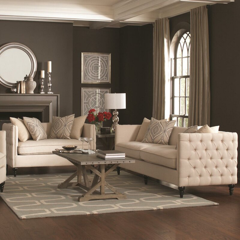 new living room set. New Rochelle 2 Piece Living Room Set Infini Furnishings  Reviews