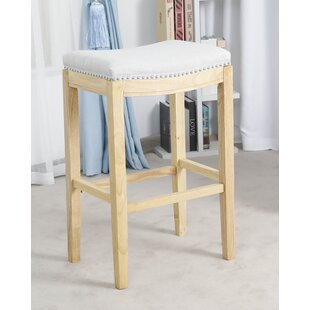 Daquan Backless Fabric 30 Bar Stool (Set of 2)