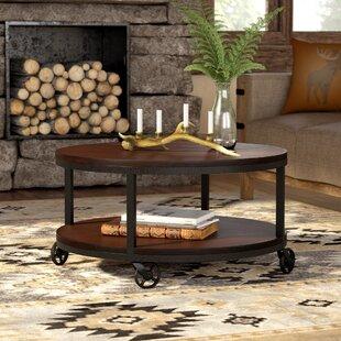 Spielman Wheel Coffee Table By Trent Austin Design