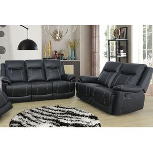 Ahner 2 Piece Reclining Living Room Set by Red Barrel Studio
