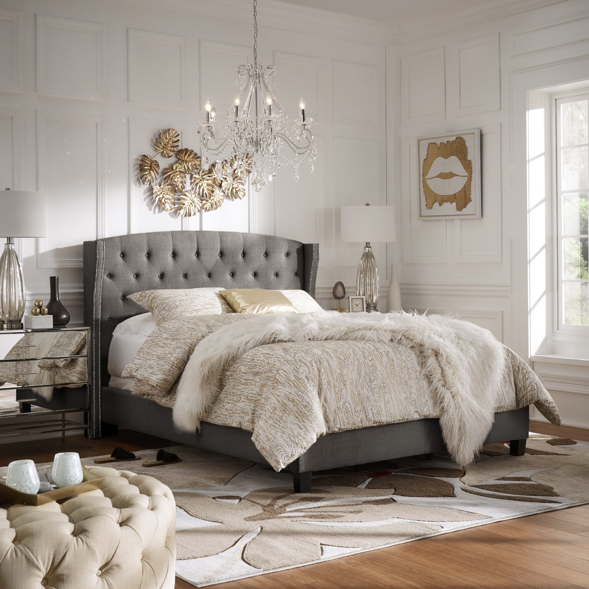 The Ultimate Guide to Glam Decor   Wayfair