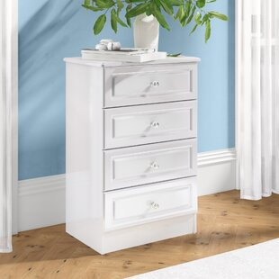Aquamarine 4 Drawer Chest By Fairmont Park
