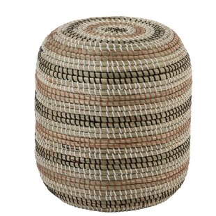Hennepin Water Hyacinth Stool By World Menagerie
