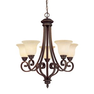 Hambleden 5-Light Semi Flush Mount