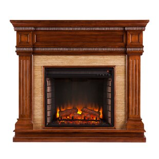 Barbican Electric Fireplace by Alcott Hill
