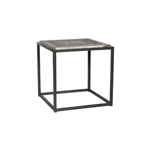 Union Rustic Vedant End Table