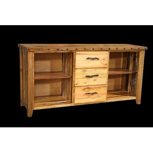 Jorgensen 3 Drawer Console Table with Side Cubbies ByLoon Peak