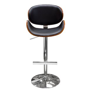 Midtown Adjustable Height Swivel Bar Stool Wonderful