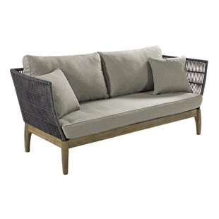 Explorer Wings Patio Sofa with Cushions