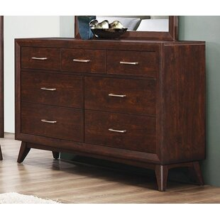 Ivy Bronx Fontainbleau 7 Drawer Double Dresser
