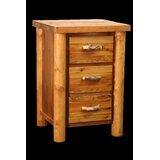 Jorgensen 3 Drawer Nightstand by Loon Peak®
