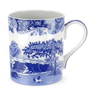 Blue Italian 16 oz. Mug (Set of 4)