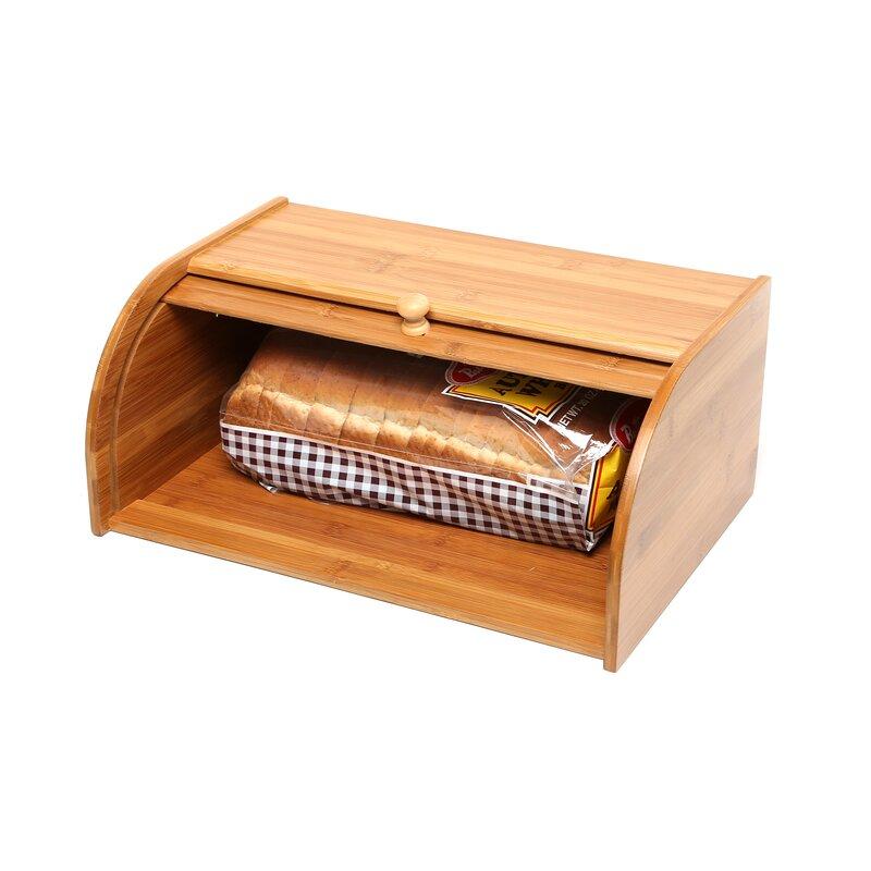 Cat In Bread Box Stunning Rebrilliant Roll Top Bread Box Reviews Wayfair