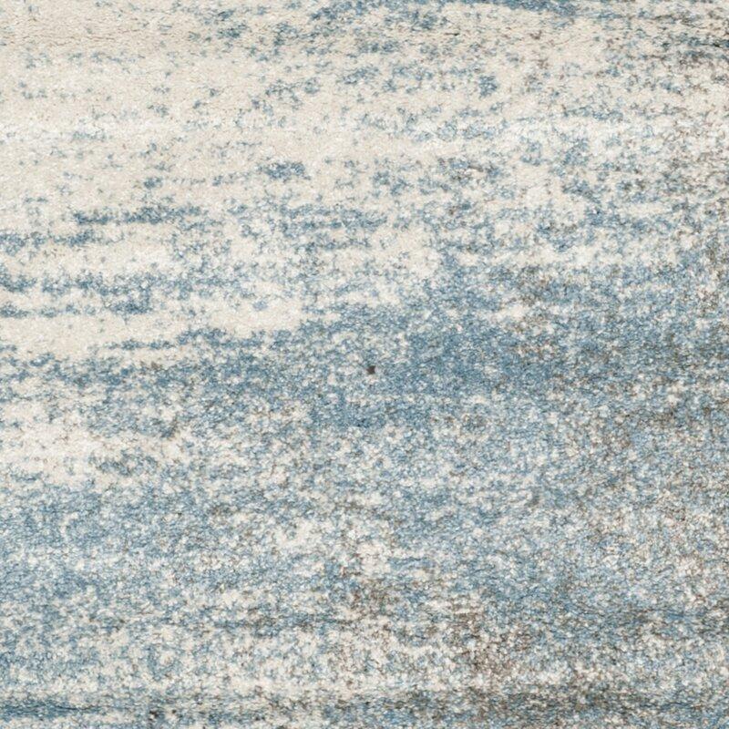 Safavieh Tahoe Abstract Gray Light Blue Area Rug Wayfair