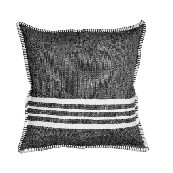 The Twillery Co Atkinson Cotton Striped Pillow Cover Reviews Wayfair