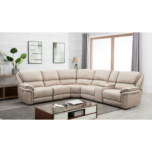 Shop Kalista Reclining Sectional by Latitude Run