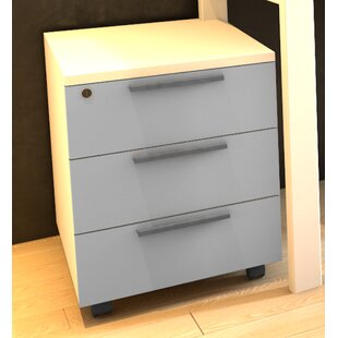 Favela 3 Drawer Filing Cabinet By Symple Stuff