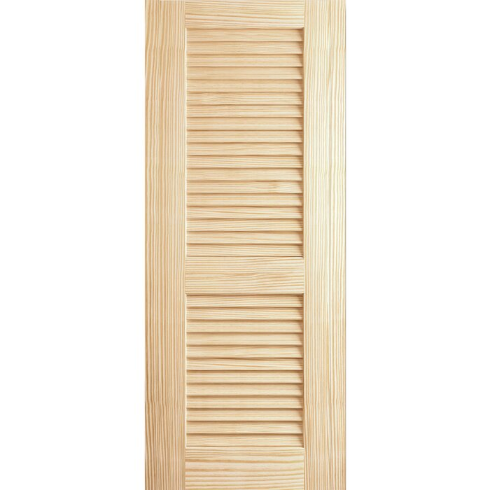 Louvre Louvre Door, Kimberly Bay® Interior Slab Clear 80 In. X 18 In