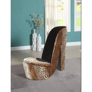 Bordertown High Heel Shoe Side Chair