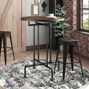 Williston Forge Dudek Industrial Pub Table