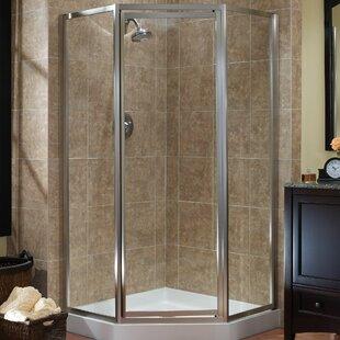36 inch neo angle shower door wayfair chase 70 neo angle shower emclosure planetlyrics Gallery
