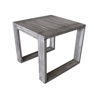 Asther Modern Teak Side Table