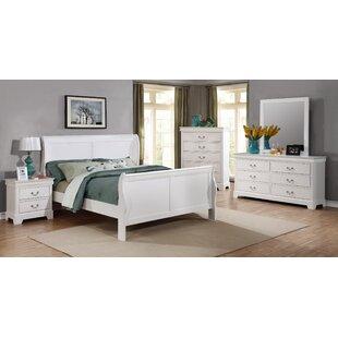 Fasano Full Sleigh 5 Piece Bedroom Set