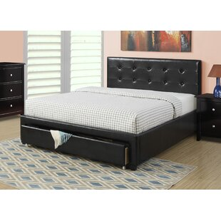 A&J Homes Studio Beverly Upholstered Platform Bed