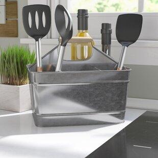 Silverware And Plate Caddy | Wayfair