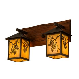Balsam 2-Light Outdoor Wall Lantern by Me..