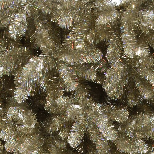 Vickerman Upside Down 5.5' White Artificial Christmas Tree ...