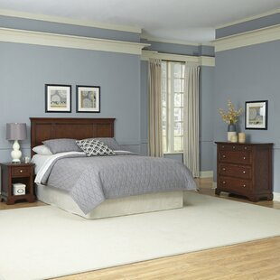 Three Posts Borden Panel 3 Piece Bedroom Set