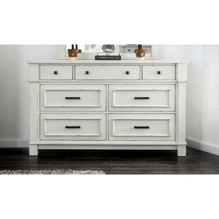 Bruno 7 Drawer Double Dresser
