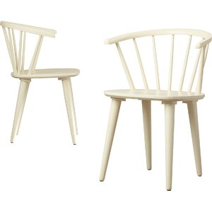 Dora Grove Solid Wood Dining Chair (Set of 2)
